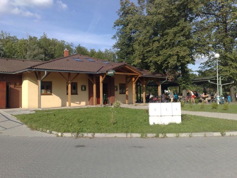 Nabíjecí stanice elektrokol - Restaurace U splavu, Frýdek-Mistek