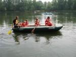 Sjíždění řeky Ostravice