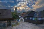 The submontane town of Štramberk