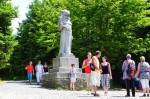 Szczyty Pustevny (1018 m n.p.m.) i Radhošť (1129 m n.p.m.)