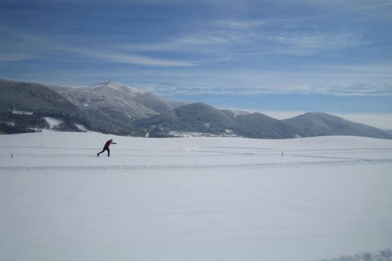 Běžecká stopa SnowArena Čeladná