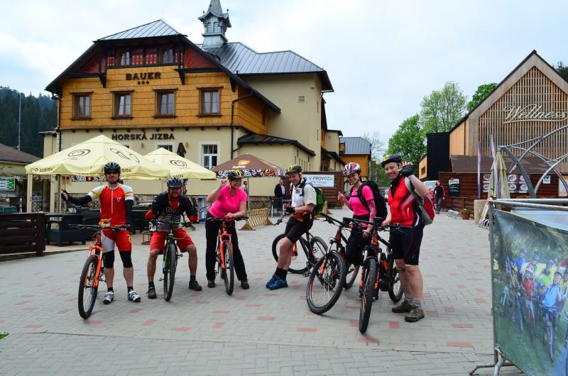 Cyklotrasa Bílá - Gruň - Bílý Kříž - Suľov - Bílá