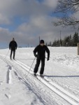 Běžecká trasa na Bílé trasa 3